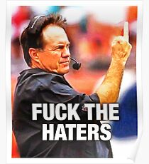 bill fuck the haters Poster