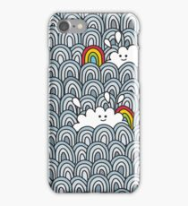 Blue sky - you`re lucky! iPhone Case/Skin