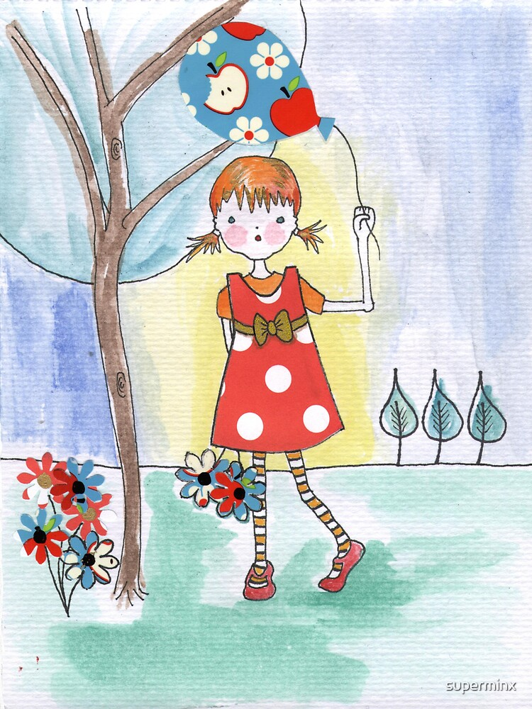 Polka Dot Girl by superminx