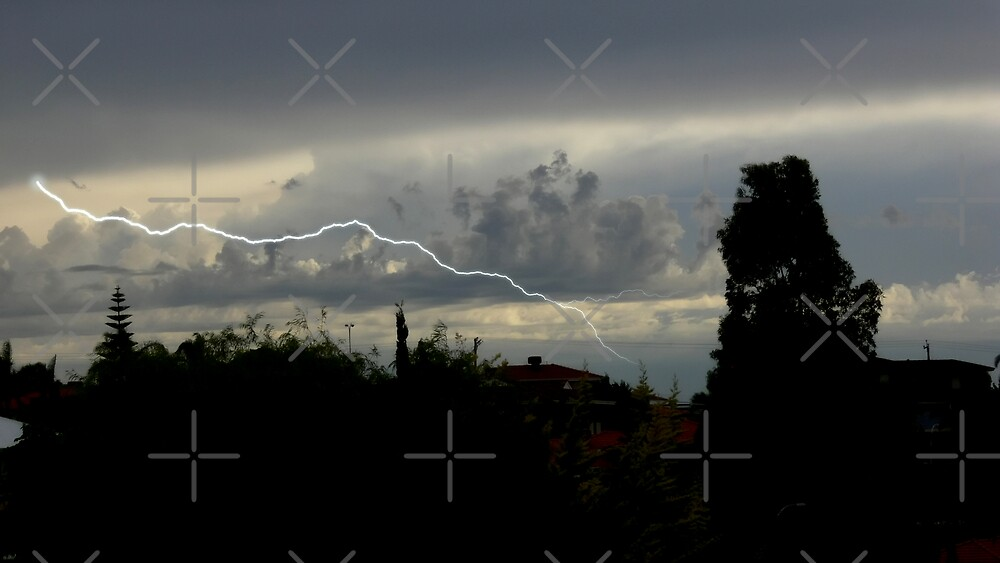 Lightning Strike by Sandra Chung