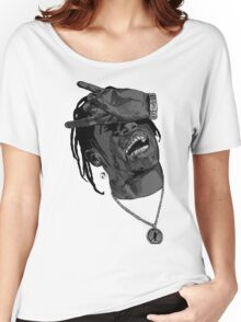 La Flame grey Women's Relaxed Fit T-Shirt