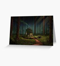 The Alchemist's Hut Greeting Card