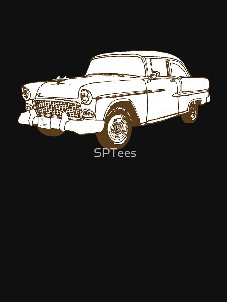 Retro Car by SPTees