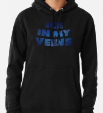 Ice in my veins basketball Pullover Hoodie
