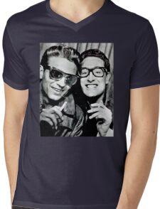 buddy holly and waylon jennings Mens V-Neck T-Shirt