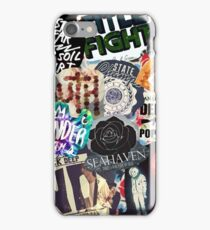 Pop Punk Collage III iPhone Case/Skin