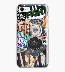 Pop Punk Collage III iPhone Case/Skin