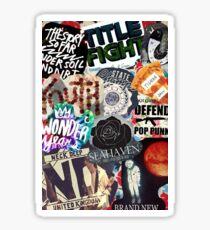 Pop Punk Collage III Sticker