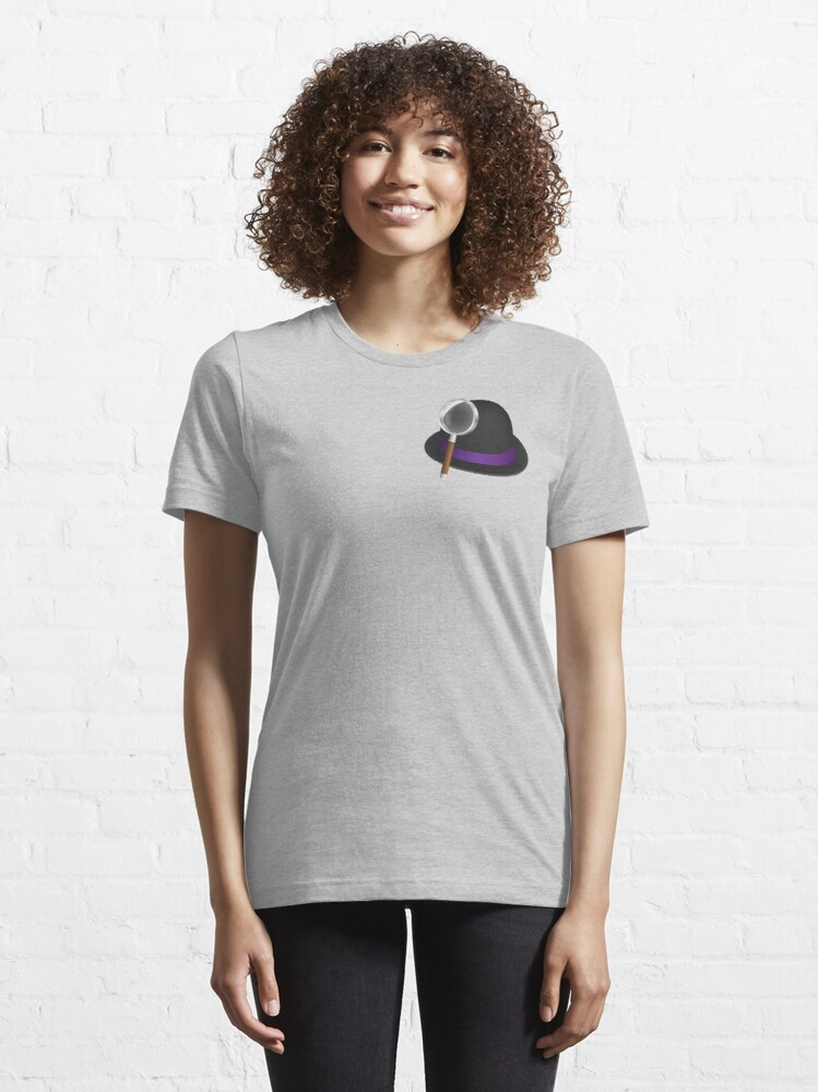 Alternate view of Alfred's hat & magnifying glass Essential T-Shirt