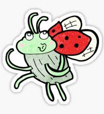 cartoon ladybug Sticker