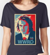 What would Riggins do? Women's Relaxed Fit T-Shirt