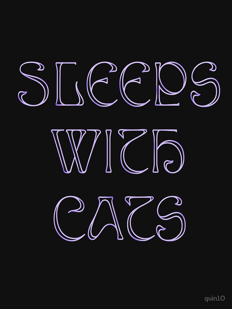 Sleeps With Cats by quin10