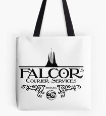 Falcor's Courier Services Tote Bag
