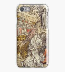 Albrecht Durer - Angel With The Key Of The Abyss iPhone Case/Skin