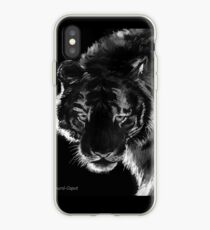 Tiger B & N, featured in Back in Black iPhone Case