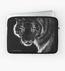 Tiger B & N, featured in Back in Black Laptop Sleeve