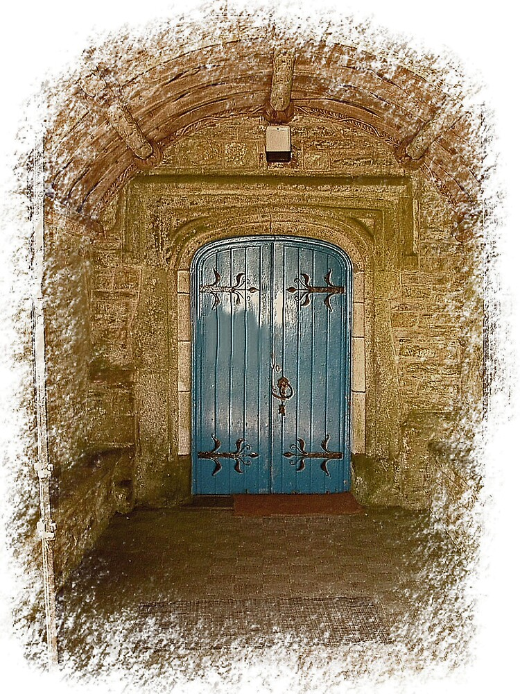 The entrence door to the church by Michael Barber4
