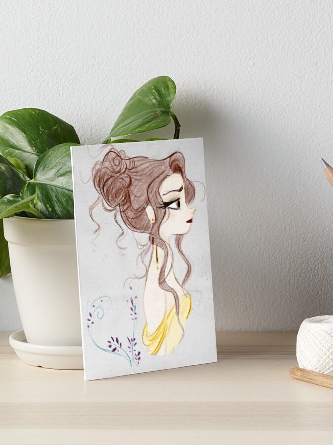 Schönheit Und Das Biest Die Schöne Magie Zeichnen Galeriedruck Von