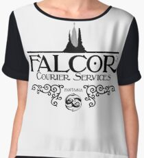 Falcor's Courier Services Women's Chiffon Top