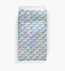 Mermaid Scales - Shiny Light Duvet Cover
