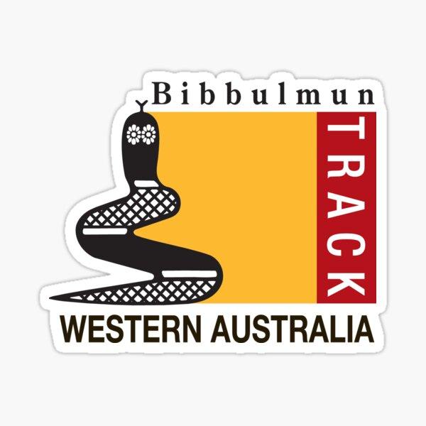 Bibbulmun Track logo Sticker