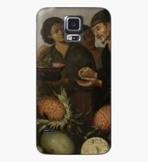 Albert Eckhout - East Indian Market Stall In Batavia Case/Skin for Samsung Galaxy