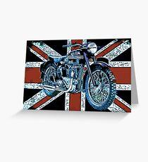 British Triumph Greeting Card