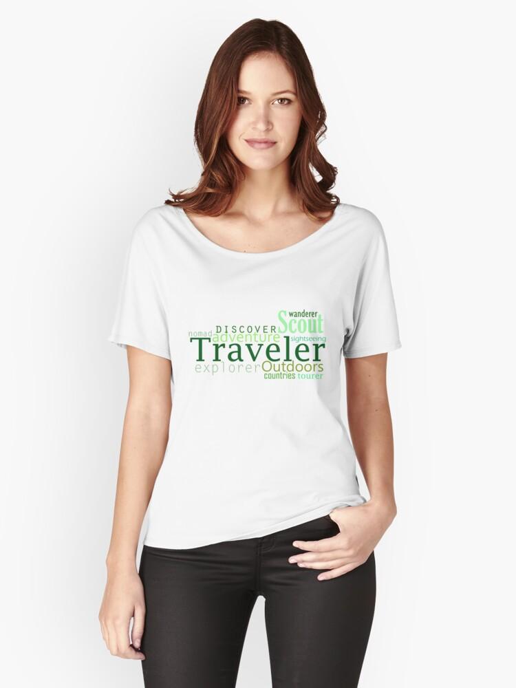 Traveler Women's Relaxed Fit T-Shirt Front