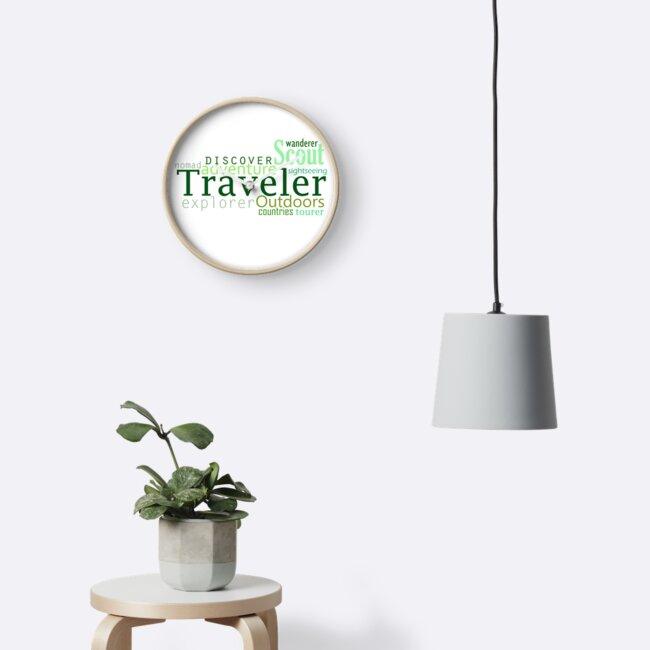 Traveler by C. Tarantino