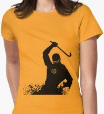 Gordon freeman Womens Fitted T-Shirt