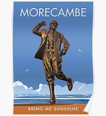 Morecambe, Bring me Sunshine Poster