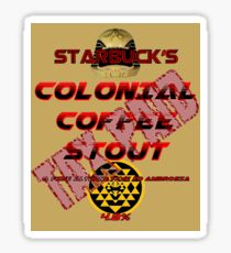 Starbuck's Colonial Coffee Stout Sticker