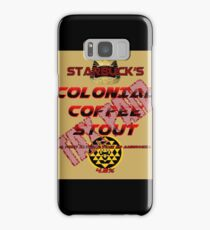 Starbuck's Colonial Coffee Stout Samsung Galaxy Case/Skin