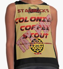 Starbuck's Colonial Coffee Stout Contrast Tank