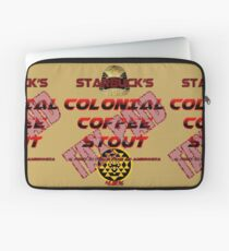 Starbuck's Colonial Coffee Stout Laptop Sleeve