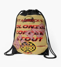 Starbuck's Colonial Coffee Stout Drawstring Bag