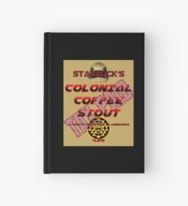 Starbuck's Colonial Coffee Stout Hardcover Journal