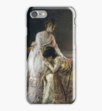 Alfred Stevens - After The Ball, Also Known As Confidence iPhone Case/Skin