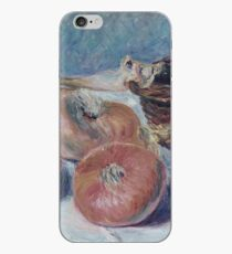 Alfred Sisley - Still Life With Onions iPhone Case