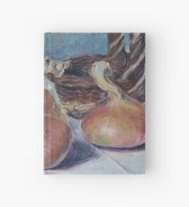 Alfred Sisley - Still Life With Onions Hardcover Journal