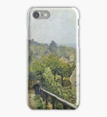 Alfred Sisley - Louveciennes Or, The Heights At Marly iPhone Case/Skin