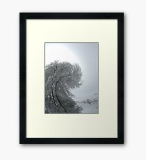 Swirling World Framed Print
