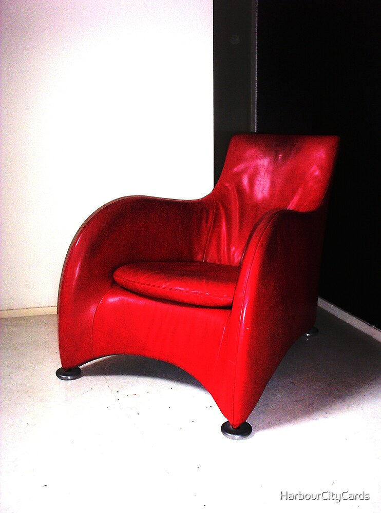 Red Chair Again by HarbourCityCards