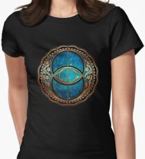 Vesica Piscis, Chalice Well symbol, Avalon, celtic, magic T-Shirt