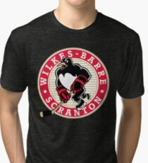 wilkes barre scranton penguins jersey Tri-blend T-Shirt