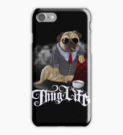 Pug Thug Life iPhone Case/Skin