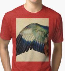 Albrecht Durer - Wing Of A Blue Roller Tri-blend T-Shirt
