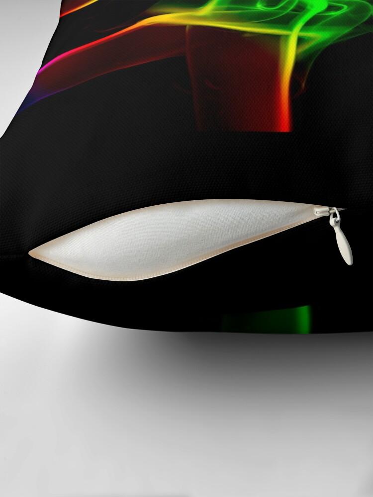 Alternate view of Rainbow Crossing Throw Pillow