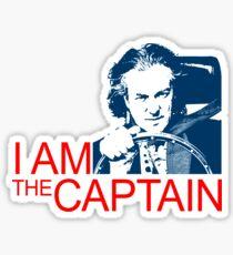 I Am the Captain Sticker