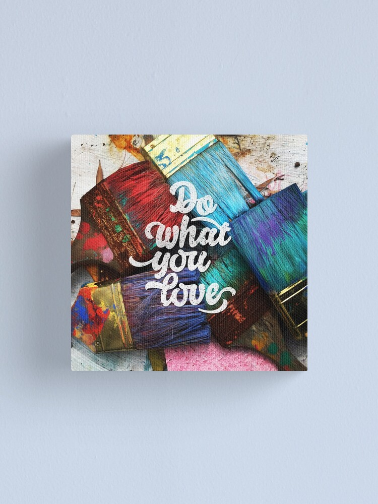 Alternate view of Do what you love Canvas Print